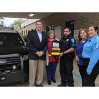 City of West Monroe Police Department receives grant for AEDs
