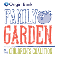 ORIGIN BANK PARTNERS WITH CHILDREN'S COALITION, NAMES FAMILY GARDEN