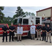 Atmos Energy Donates to West Monroe Fire Department
