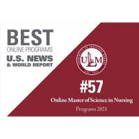 ULM Online MS in Nursing ranks #57 in U.S. News Best Online Programs for 2021