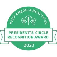 Keep West Monroe Beautiful receives 2020 President's Circle Award