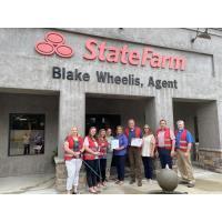 Take it to the Next Level Business Appreciation Award Given to Blake Wheelis – State Farm – West Mon