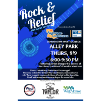 ROCK & RELIEF CONCERT TO BENEFIT UNITED WAY'S EMBRACE LOUISIANA HURRICANE IDA DISASTER RELIEF FUND