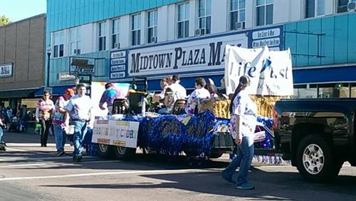 LifeQuest's entry in DWU Homecoming parade