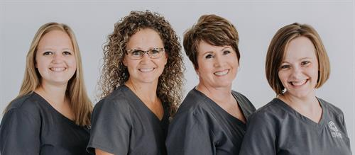 Mabee Eye Clinic Office staff