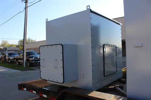 Electrical Enclosure for a Hydro Power Plant