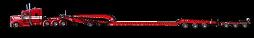 Multi-axle trailers