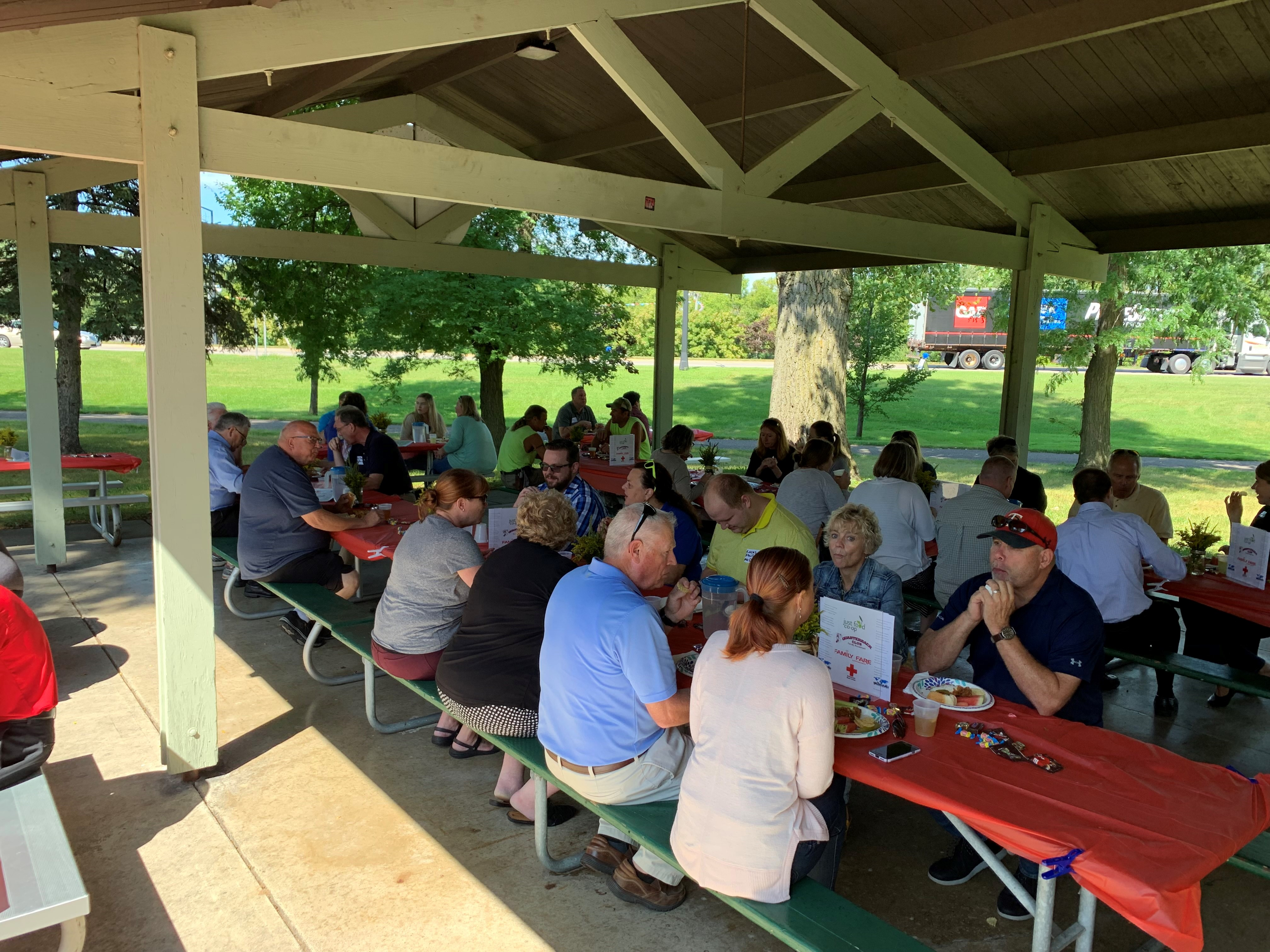 Image for NORTHFIELD AREA CHAMBER OF COMMERCE & TOURISM HOLDS INAUGURAL MEMBERSHIP APPRECIATION PICNIC