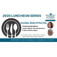POSTPONED - 2020 Dundas State of the City Luncheon