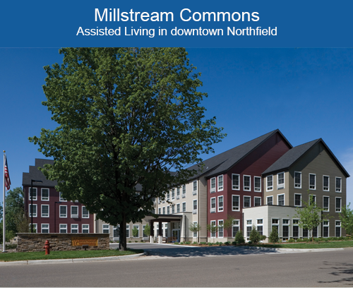 Millstream Commons: Assisted Living in downtown Northfield