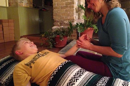Calming Kids Massage class