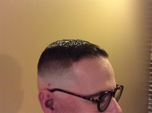 classic bald fade
