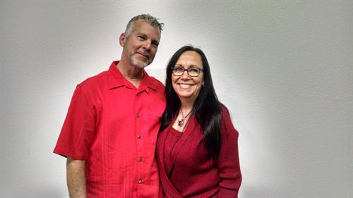 Associate Pastor Jeff Lege & wife, Brenda