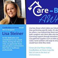 Lisa Steiner-CareBuilder of the week