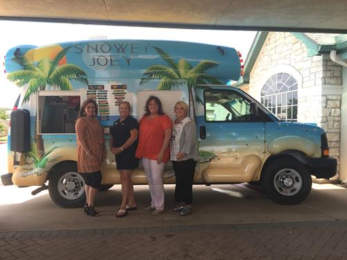 Snowcones at Carriage Inn Event-August 2015