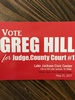 GREG HILL FOR JUDGE, CCL#1