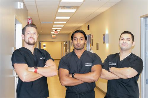 Angleton ER board certified physicians