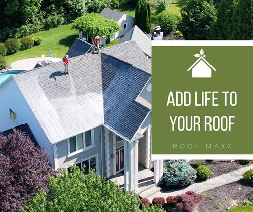 Roof Maxx comes with a 5 year transferrable warranty