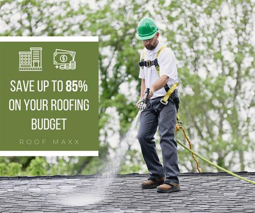 Choose Roof Maxx, and we will let you know if your roof qualifies for treatment.