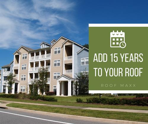 With maintenance and treatments being repeatable, why not extend the life of your roof 15+ years?