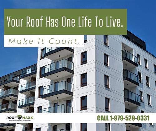 With so many natural resources going into the production of each and every roof, why cut the life of a roof short with replacement if it can be so easily extended?