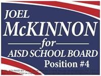 Vote Joel McKinnon for AISD
