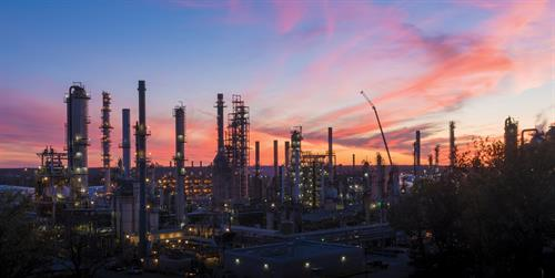 Valero Memphis Refinery is the only refinery in the state of Tennessee