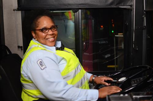 MATA Bus Operator Jackie Fitzgerald Is Ready For Passengers