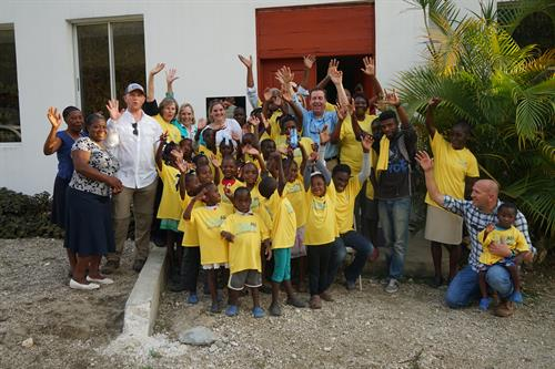 Rainbow House in Haiti. Home for abandoned children with HIV/AIDS