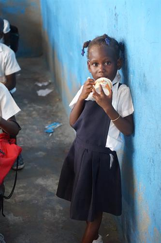 During a trip to Haiti, we surprised the children with an ice cream party!