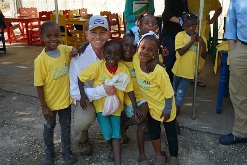 Rainbow House in Haiti provides a loving home for children with HIV/AIDS.