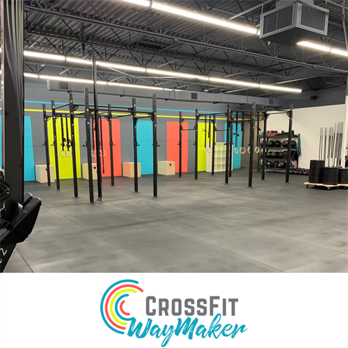 Bright, airy space to train