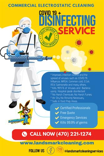 COVID 19 Disinfecting Service
