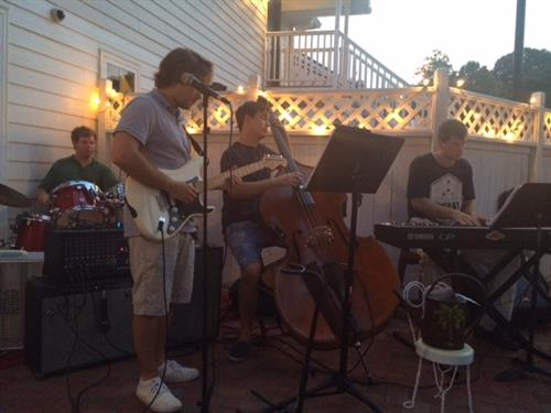 Broadgreen Quartet Play on The Patio Sat July 25 7:00