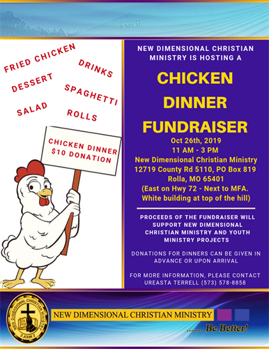 Annual Chicken Dinner Event