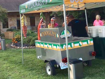 Our mobile cart is available for promotions, catering, tailgating, or any other event!