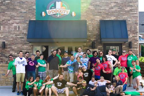 We consider everyone family at O'Doggy's...  stop in and join the fun!