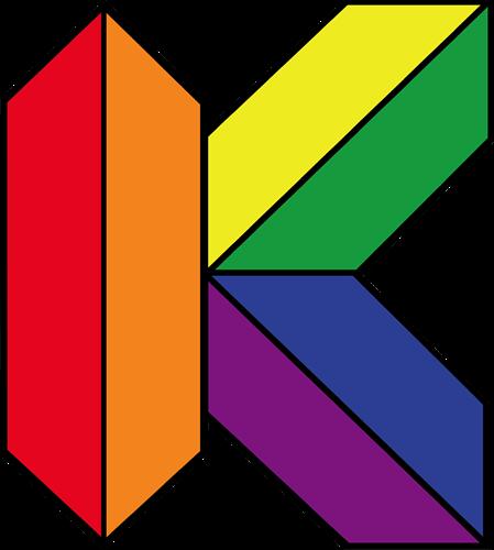 "Kaleidoscope Discovery Center ""K"" Logo"