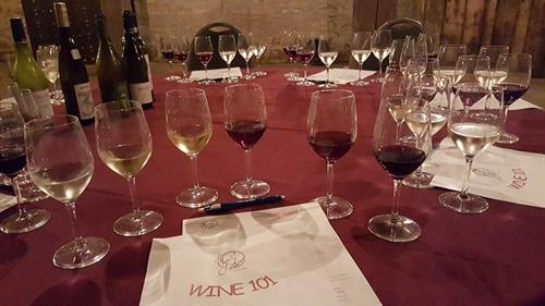 Wine 101 with Eric, our Sommelier