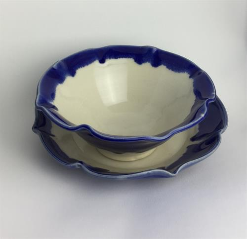 Lotus Soup bowl and Salad plate