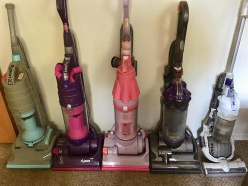 We love Dyson vacuums