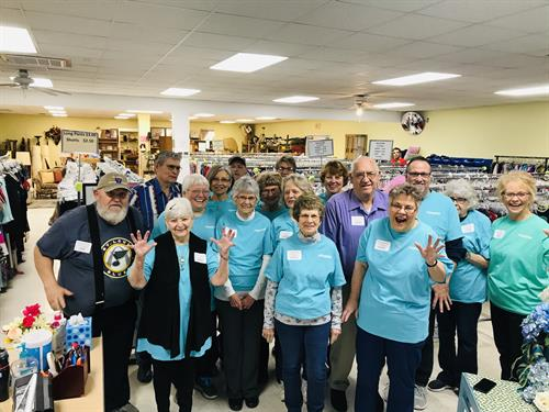 It is a great time to consider volunteering at the St. James Caring Center or Senior Center.   We have fun, work hard all for the betterment of the community.   Call Marilyn to sign up   573-265-2047