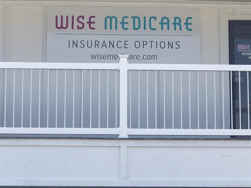 Wise Medicare Exterior Sign