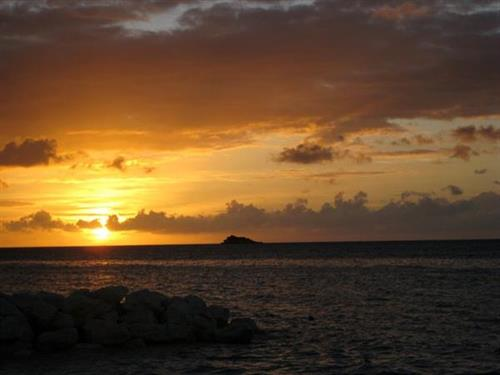Sunset in Antigua