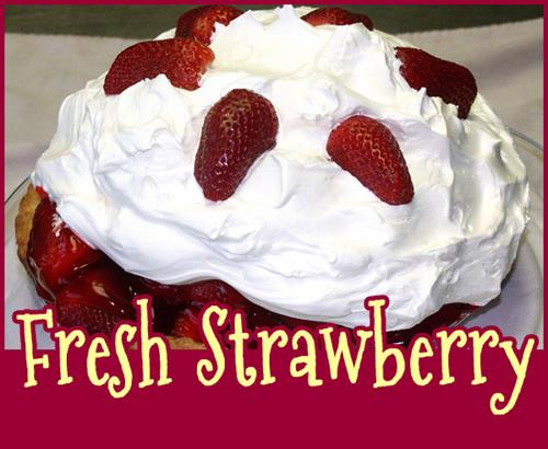 Freh Strawberry Pie