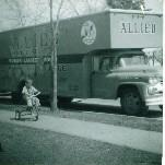 Allied Van Lines truck 1961