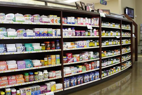Vitamins and Over The Counter Medication