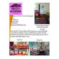 Kiddie Korner LLC has: 3 Preschool Openings!!