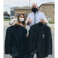 St. James Caring Center Donates Professional Attire