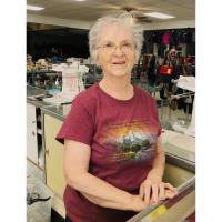 St. James Caring Center November Volunteer of the Month, Claudine Parrish